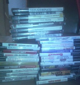 Диски PS2 / Игры PS2 / Playstation2