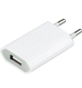 Сетевое зарядное устройство USB iPhone/Android 1mA