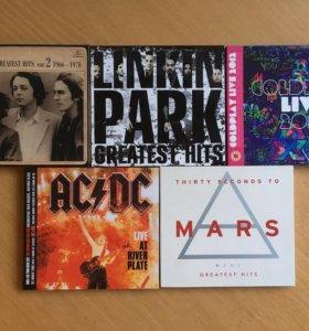 Музыкальные CD диски (б/у)