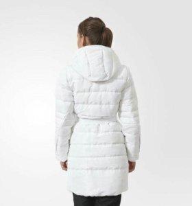 Пальто пуховик Adidas l,m,s