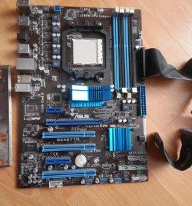 """Мат.платаSocket AM3 ASUS""""M4A87TD""""(AMD      870,4xD"""