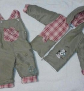 Срочно!!!!Продается новый осенний детский костюм.