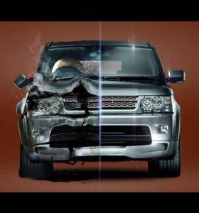 Кузовной ремонт авто. Восстановление автопластмасс