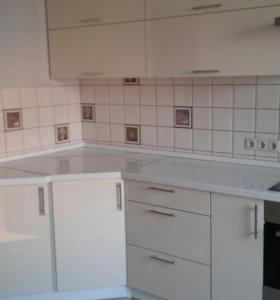 Кухня белоснежка
