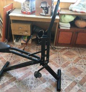 Power craft the fitness rider тренажер