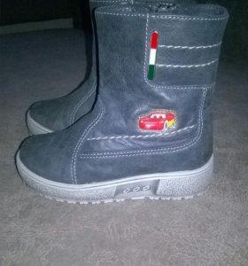 Зимние ботиночки на мальчика. Размер 23 (15см)