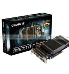 NVIDIA GeForce 9600 GT Silent Cell