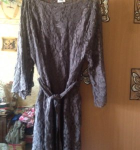 Платье , новое 48-50 . Кружевное