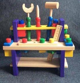 Деревянная игрушка Верстак