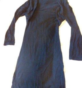 Платье с болеро сшитое слитно
