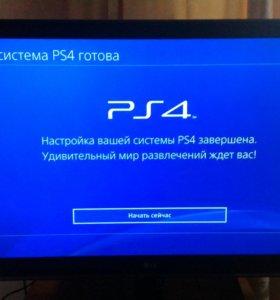 Новая PlayStation 4 Slim 500Gb