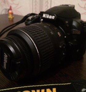 Nikon D3100+ AF-S DX 18-55mm VR