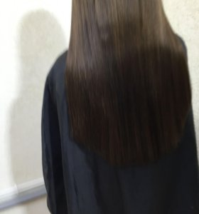 наращивание волос, снятие, капсуляция