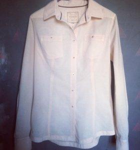 ✔️Рубашка/блузка из хлопка Mango размер 44
