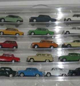 Машинки Автолегенды СССР
