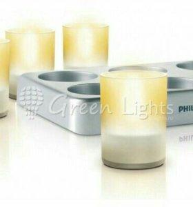 Светодиодные свечи Philips Imageo Tealight, 6шт