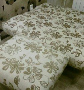 Комплект мебели papillon диван, кресло, банкетка