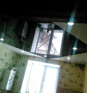 Монтаж потолков натяжных