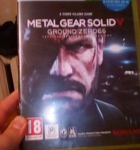 """Игра к XBOX 360 """"Metal Gear Solid 5"""" и """"Halo Reach"""