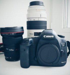 Canon 5d Mark lll и canon 70-200 2/8 L ll