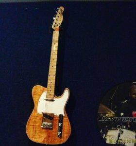 Продаётся не спеша Fender telecaster (на заказ).