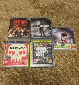 Диски на приставку PS3