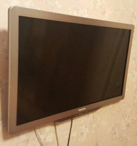 Продам TV Philips 32pfl7406h/60+ wifi адаптер