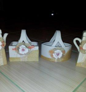 Соусники и корзинки для сладкого