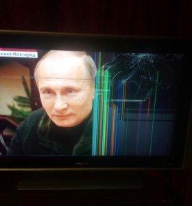 """32"""" ЖК телевизор Philips ls320w01 sl01 на запчасти"""