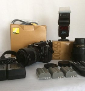 Nikon D90 (объектив 18-105) + Nikkor 55-200 и т.д