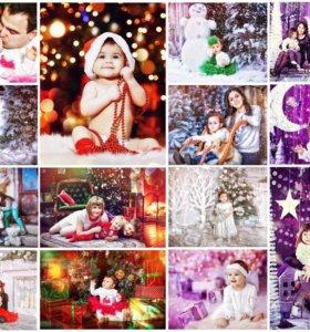Фотосессии детские, индивидуальные, свадебные.