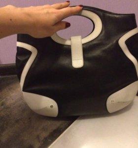 Escada женская кожаная сумка оригинал