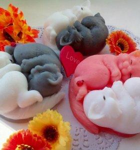 Коты ( сувенирное мыло)