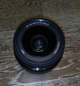 Объектив Sony DT 3.5-5.6/18-55 SAM II