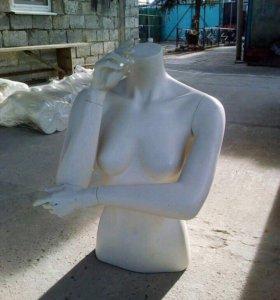 манекен (торс) гипсовый