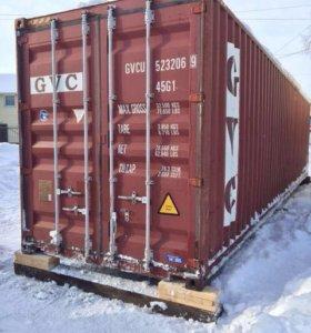 Продаётся 40 футовый контейнер