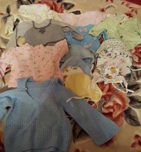 Вещи для девочки с 2 до 6 месяцев