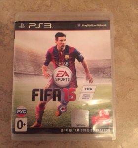 """Диск на PS3 """"FIFA 15"""" в отличном состоянии"""