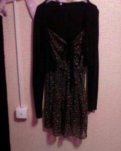 Полу платье