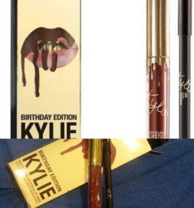 МАТОВАЯ ПОМАДА Kylie 👄 в комплекте с карандашом