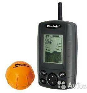 Эхолот Rivotek Fisher 30 Wireless новый