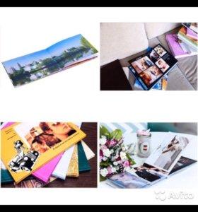 Фотокниги/календари/принтбуки/пазл с фото