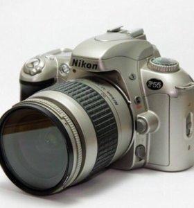 Зеркальный пленочный фотоаппарат Nikon