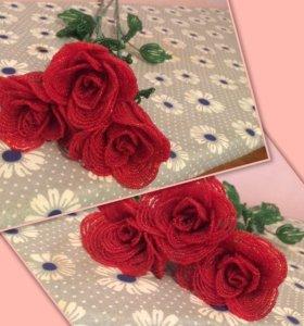 Бисерные Розы