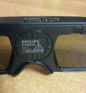Очки 3д филипс philips 3d active