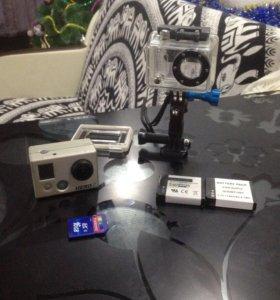 Экшн камера GoPro hero 2