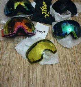 Маски COPOZZ, для катания на лыжах и сноуборде!