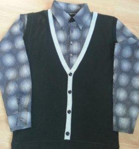 рубашка + жилет