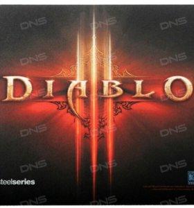 Коврик SteelSeries QcK mini Diablo III Logo Editio