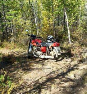 Мотоцикл иж юпитер 5 с коляской